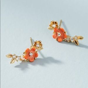 NWT Anthropologie • Colorful Flower Climbers